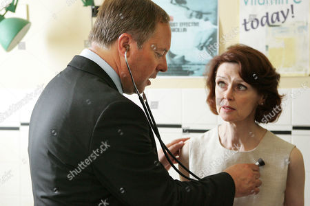 Stock Picture of Robert Daws as Dr Gordon Ormerod and Gabrielle Drake as Margo Price