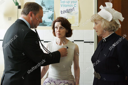 Robert Daws as Dr Gordon Ormerod and Gabrielle Drake as Margo Price with Wendy Craig as Matron