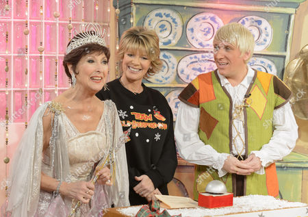 Stock Picture of Anita Harris, Ruth Langsford and Kevin Cruise