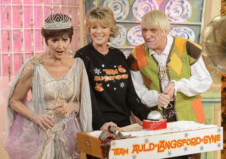 Stock Photo of Anita Harris, Ruth Langsford and Kevin Cruise