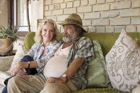 Du Plessis (Deon Stewardson) and Caroline (Hayley Mills)