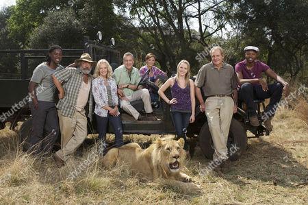 Thabo (Atandwa Kani), Du Plessis (Deon Stewardson), Caroline (Hayley Mills), Danny (Stephen Tompkinson),, Rosie (Lucy-Jo Hudson), Olivia (Olivia Scott-Taylor),, Ed (Robert Bathurst) and Fatani (Thapelo Mokoena)