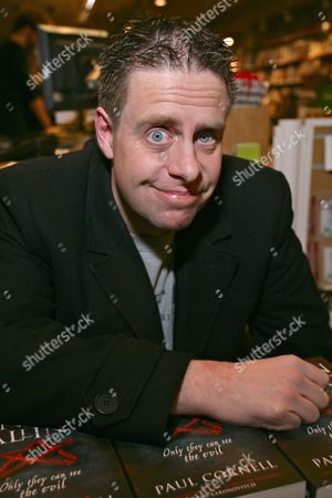 Editorial photo of Paul Cornell 'London Falling' book signing, Waterstones, Reading, Britain - 11 Dec 2012