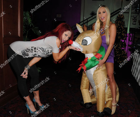 Stock Picture of Lacey Rain and Mary Carey
