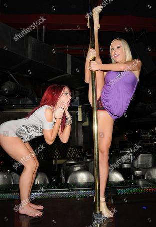 Stock Image of Lacey Rain and Mary Carey