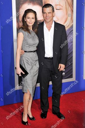 Stock Photo of Diane Lane and Josh Broslin