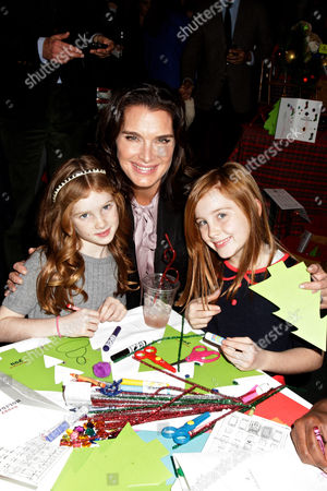Brooke Shields and her daughters Rowan Henchy and Grier Henchy