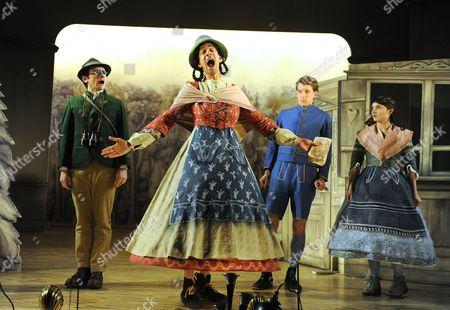 Justin Salinger as Johann, Amit Shah as Marta, Dylan Kennedy as Hansel, Ruby Bentall as Gretel