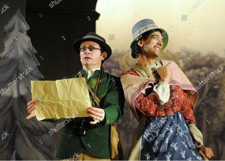 Justin Salinger as Johann, Amit Shah as Marta