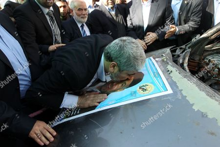 Editorial photo of Hamas leader Khaled Meshaal visits Gaza - 07 Dec 2012