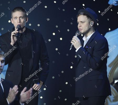 Danny Saucedo and Olly Murs