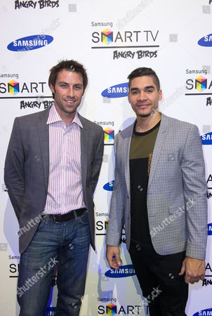 Mark Hunter and Louis Smith
