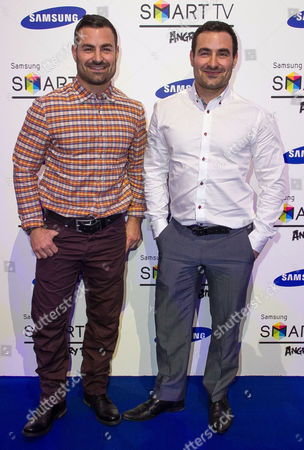 Editorial photo of Samsung Smart TV 'Angry Birds' all stars final, London, Britain - 13 Dec 2012
