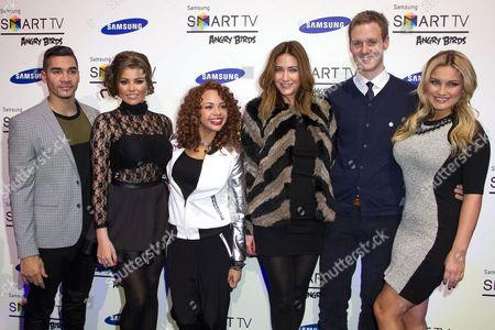 Editorial image of Samsung Smart TV 'Angry Birds' all stars final, London, Britain - 13 Dec 2012