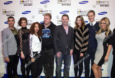 Louis Smith, Jessica Wright, Alexis Jordan, Harri Koponen Stephen Taylor, Lisa Snowdon, Dan Walker and Sam Faiers