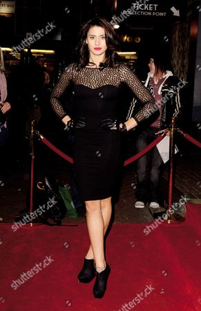 Editorial photo of 'U.F.O.' film premiere, London, Britain - 13 Dec 2012