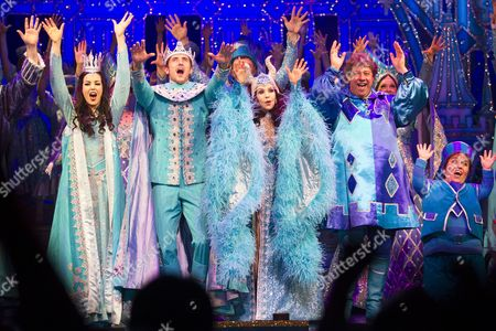 Editorial image of 'Snow White and the Seven Dwarfs' pantomime press night, London, Britain - 13 Dec 2012