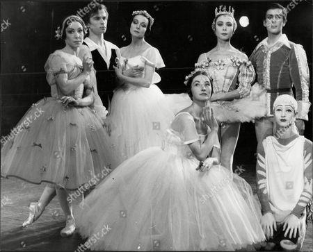 Nadia Nerina Ballerina Performing With Rudolf Nureyev Yvette Chauvire Svetlana Beriosova Donald Macleary Anya Linden And Monica Mason 1962.