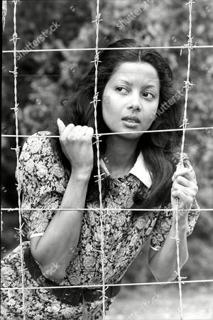 Emily Bolton In A Scene From The Television Programme 'tenko' Based In A Japanese Prison Of War Camp.
