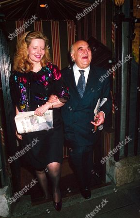 Lord Weidenfeld and wife Annabelle Whitestone