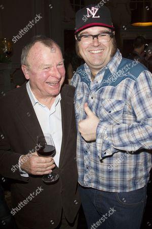 Ian Talbot (Director) and Jarred Christmas (Henchman)