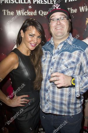 Lizzie Cundy and Jarred Christmas (Henchman)