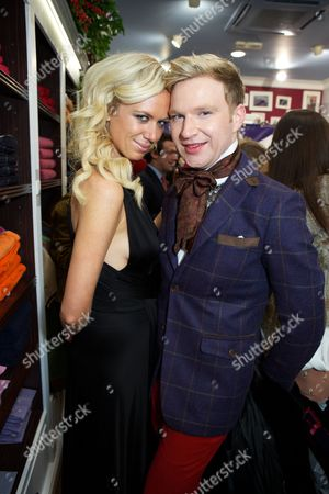 Editorial photo of Vicomte A flagship store party, London, Britain - 13 Dec 2012