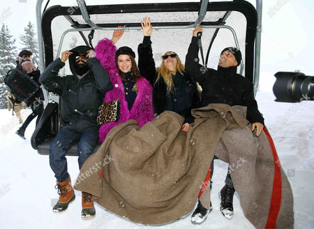 Editorial picture of ASMALLWORLD Winter Weekend in Gstaad, Switzerland - 15 Dec 2012