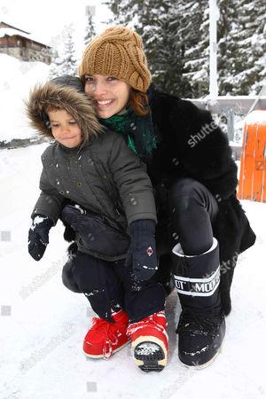 Editorial picture of ASMALLWORLD Winter Weekend in Gstaad, Switzerland - 15 Dec 2012