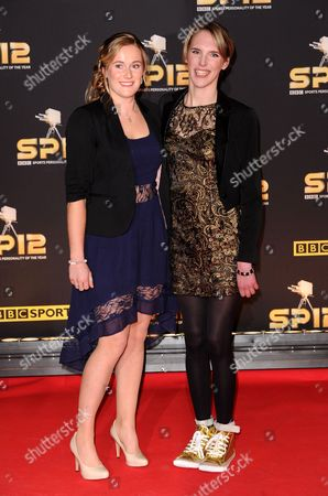 Sophie Christiansen (right) and guest