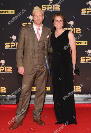 Iwan Thomas and Katharine Merry
