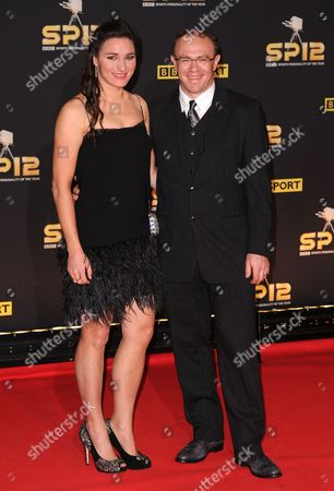 Stock Photo of Sarah Storey and husband Barney Storey