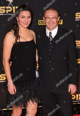 Sarah Storey and husband Barney Storey