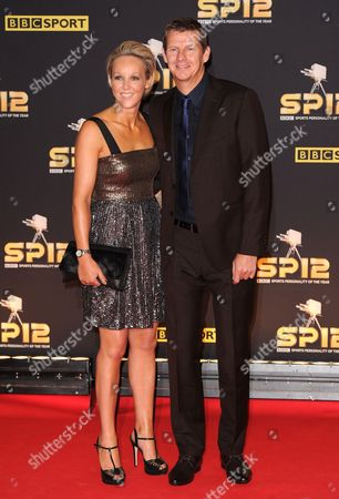 Stock Picture of Steve Cram and Allison Curbishley