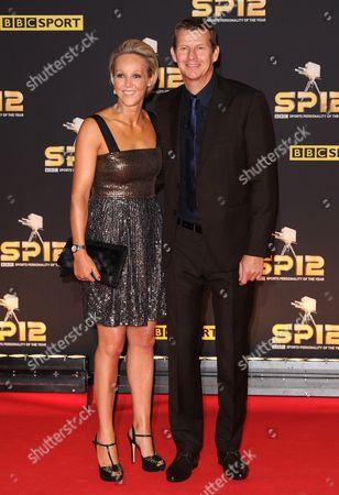 Steve Cram and Allison Curbishley