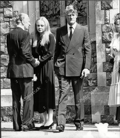 Editorial image of Dj Pete Murray With Sons Girlfriend Actress Judi Maynard At His Son Michael's Funeral Peter 'pete' Murray Obe (born 19 September 1925) Is A British Radio And Television Presenter And A Stage And Screen Actor. His Broadcasting Career Spanned Over 5