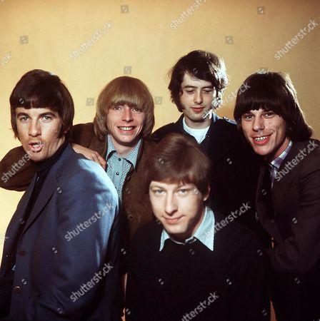 The Yardbirds - Jim McCarthy, Keith Relf, Chris Dreja, Jimmy Page and Jeff Beck