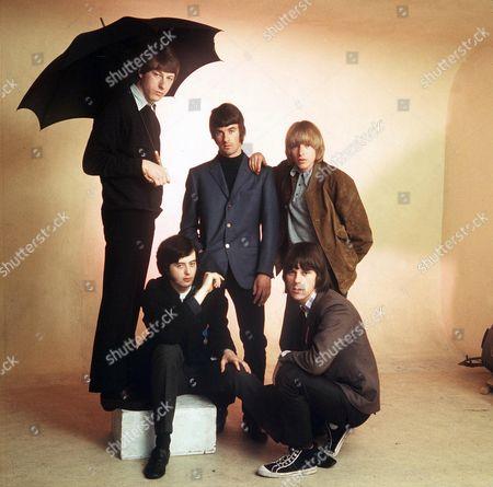 The Yardbirds - Chris Dreja, Jimmy Page, Jim McCarthy, Keith Relf  and Jeff Beck