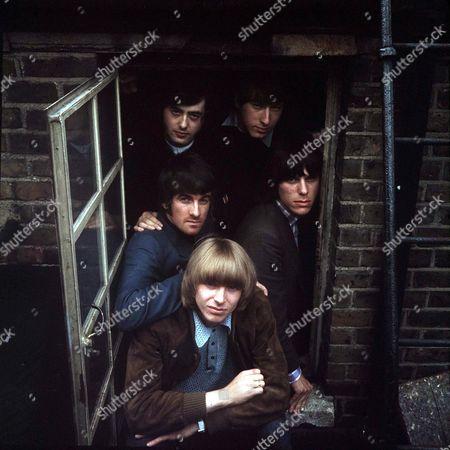 The Yardbirds - Keith Relf, Jim McCarthy, Jimmy Page, Chris Dreja and Jeff Beck