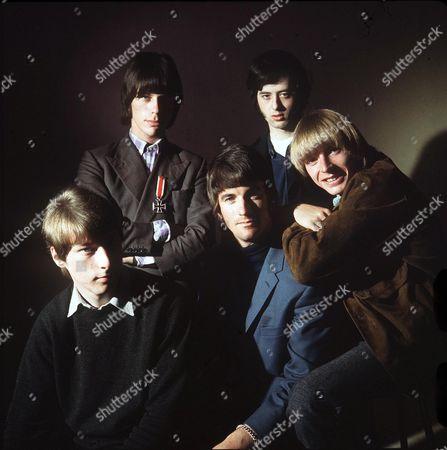 The Yardbirds - Chris Dreja, Jeff Beck, Jim McCarthy, Jimmy Page and Keith Relf
