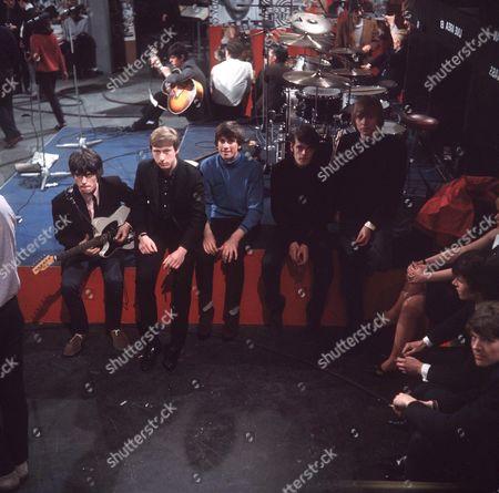 The Yardbirds - Jeff Beck, Chris Dreja, Jim McCarthy, Paul Samwell Smith and Keith Relf
