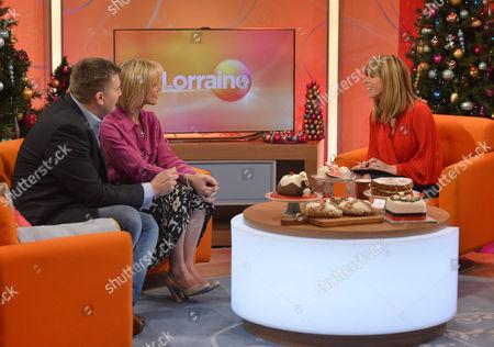 Editorial photo of 'Lorraine Live' TV Programme, London, Britain - 17 Dec 2012