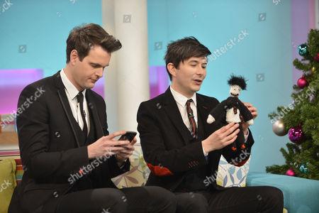 Magicians Barry and Stuart