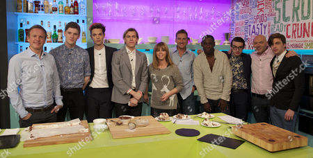 Tim Lovejoy, Spector, Kate Garraway, Ian Poulter, David Harewood, magicians Barry and Stuart and Simon Rimmer