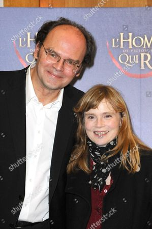 Jean-Pierre Ameris and Isabelle Carre