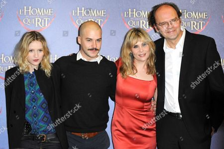 Christa Theret, Marc-Andre Grondin, Emmanuelle Seigner and Jean-Pierre Ameris