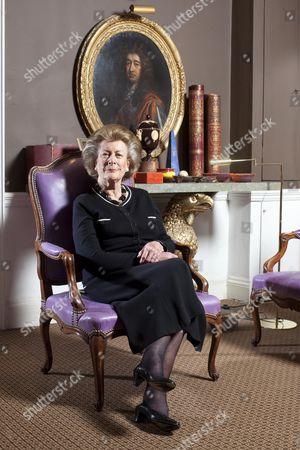 Editorial image of Lady Pamela Hicks, London, Britain - 27 Nov 2012