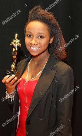 Youth Oskar Awards Monifah Pothmont. Picture By: Nigel Howard Email: Nigelhowardmediaatgmail.com.