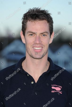 Richard Egington And Girlfriend Vicky Thornley Are Both Great Britain Rowers And Members Of The Leander Club Henley-on-thames. Head Shot Of Richard Egington.