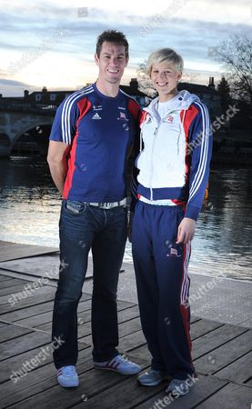 Couple Richard Egington And Vicky Thornley Are Both Great Britain Rowers And Members Of The Leander Club Henley-on-thames.